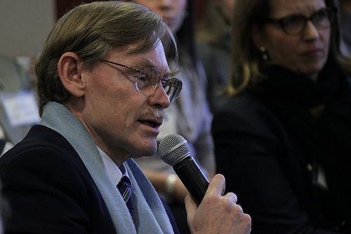 Washington D.C.: Former World Bank president Robert Zoellick asks a question about Intelligent Governance for the 21st Century --©The Aspen Institute