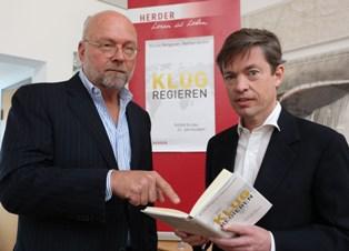 German book launch in Berlin: Gardels, Berggruen --©Marc Darchinger